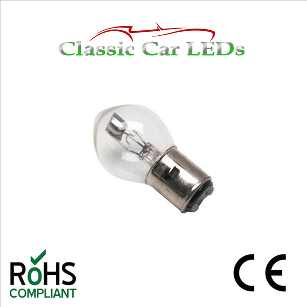 6 VOLT BOSCH CARGO BA20D 35/35W E-MARKED HEADLIGHT BULB LLB393 P393 6V 393