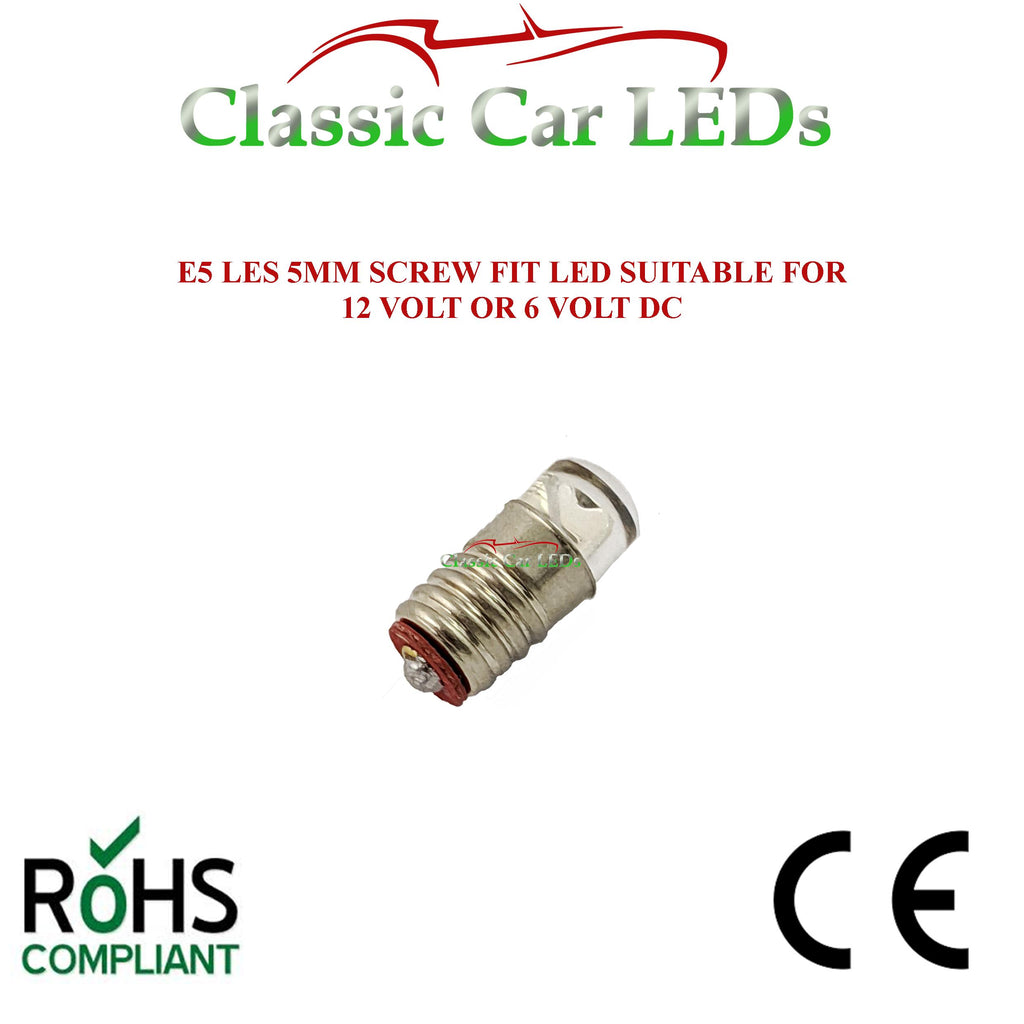 GLB280 E5 LES Lilliput Green Indicator Stalk LED Bulb 280 LLB280