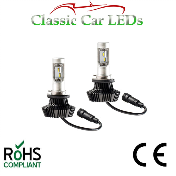 Pair of Latest LED Headlights H15 Hi Beam /DRL Conversion 9-32V Excellent Beam Pattern