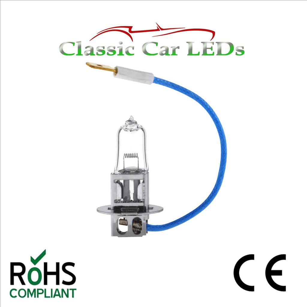 6 VOLT 55W BOSCH CARGO HALOGEN H3 PK22S BULB CAR MOTORCYCLE HEADLIGHT 6336 P455
