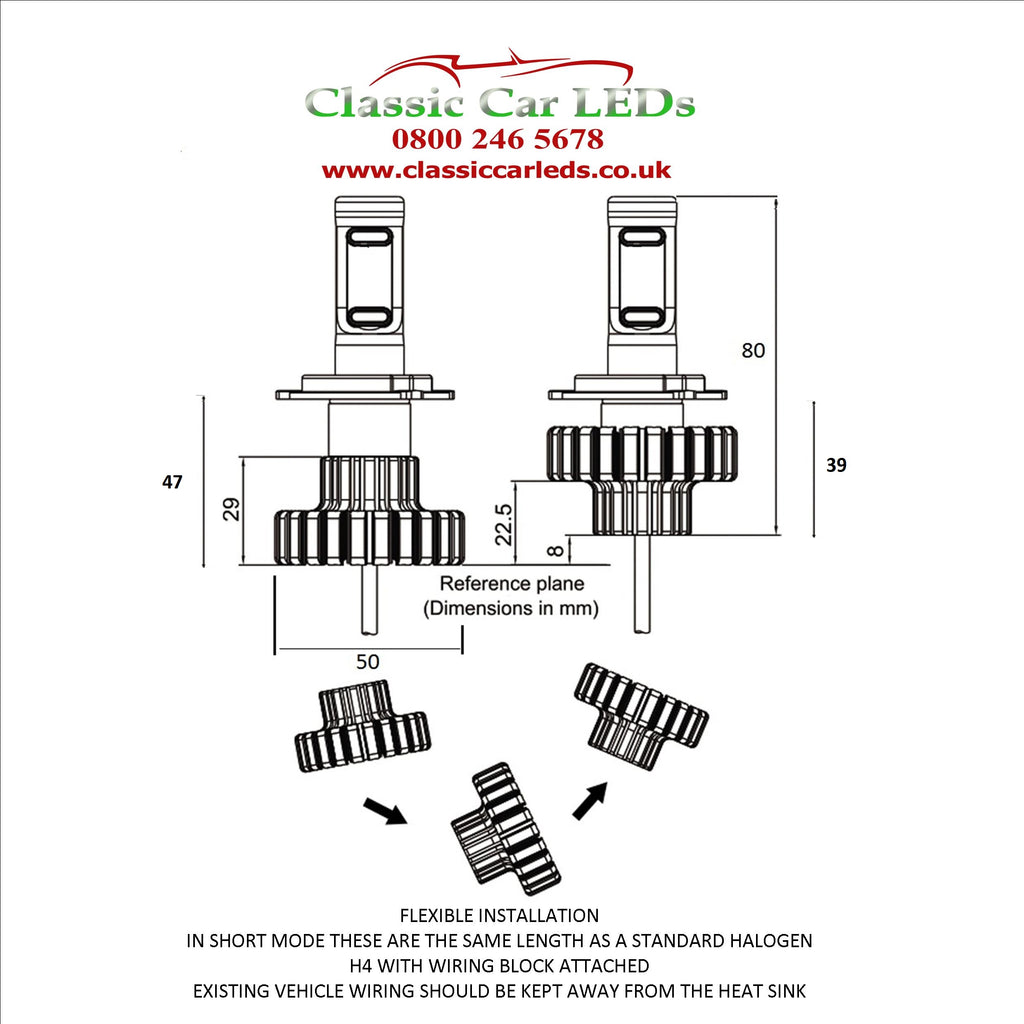 Wiring Diagram For H4 Led Bulb - Online Wiring Diagram on