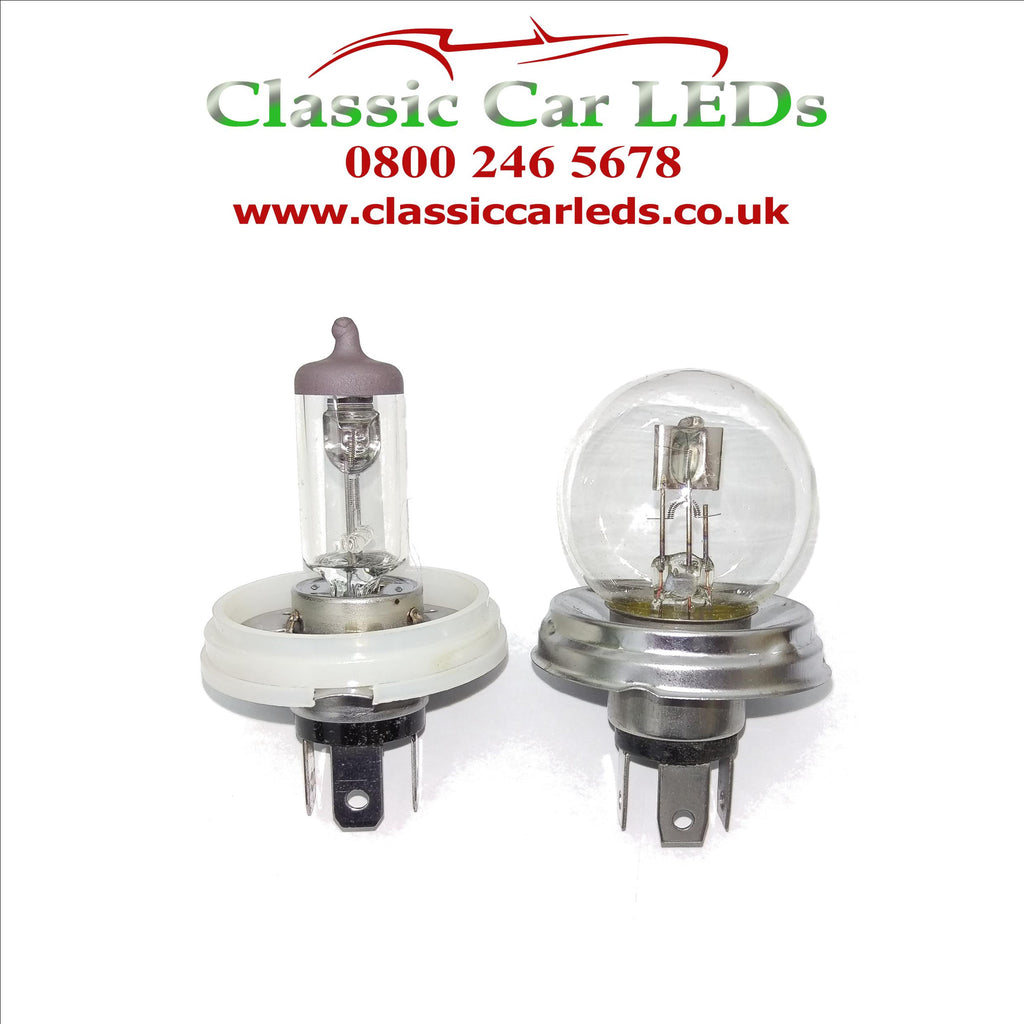 P45T R2 H5 HB12 410 to P43T H4 BULB ADAPTER