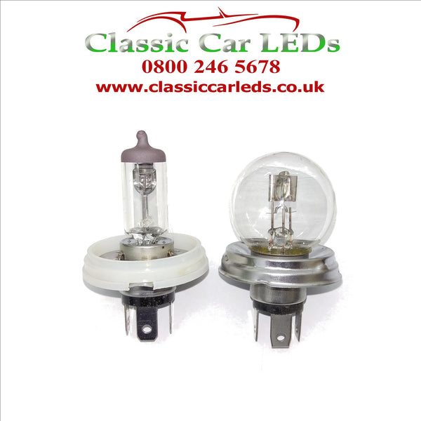 P45T R2 H5 HB12 to P43T H4 BULB ADAPTER