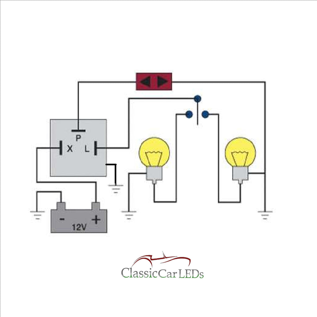 12v Flasher Relay Wiring - Wiring Diagrams IMG on