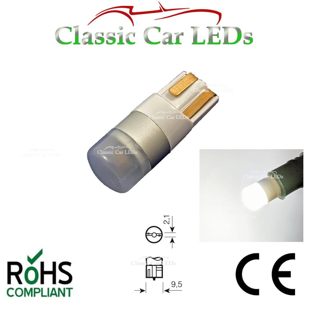 EXTRA BRIGHT T10 CAR BULB LED BRIGHT WHITE W5W W10W DRL 501 SIDE LIGHT