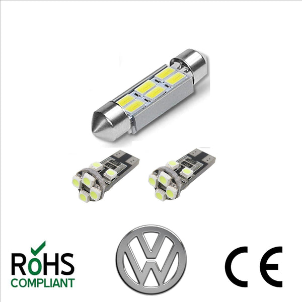 VW T5 T5.1 T6 Transporter Bright White LED Map Reading Interior & Main Light