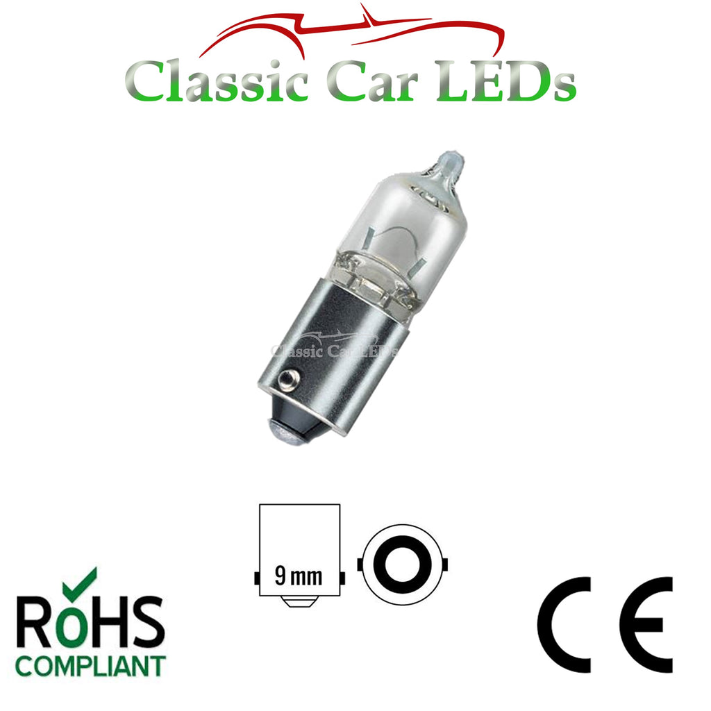 12V BA9S 20W 433 H21W ANGEL EYE, BRAKE, INDICATOR, REVERSE, REAR FOG LAMP BULB