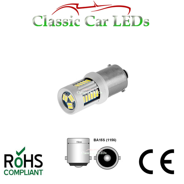 24V BA15S 21W LED GLB241 BULB CLASSIC COMMERCIAL VEHICLE P21W