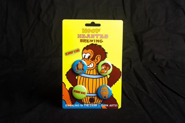 Hoof Hearted Pin Pack, Konkey Dong