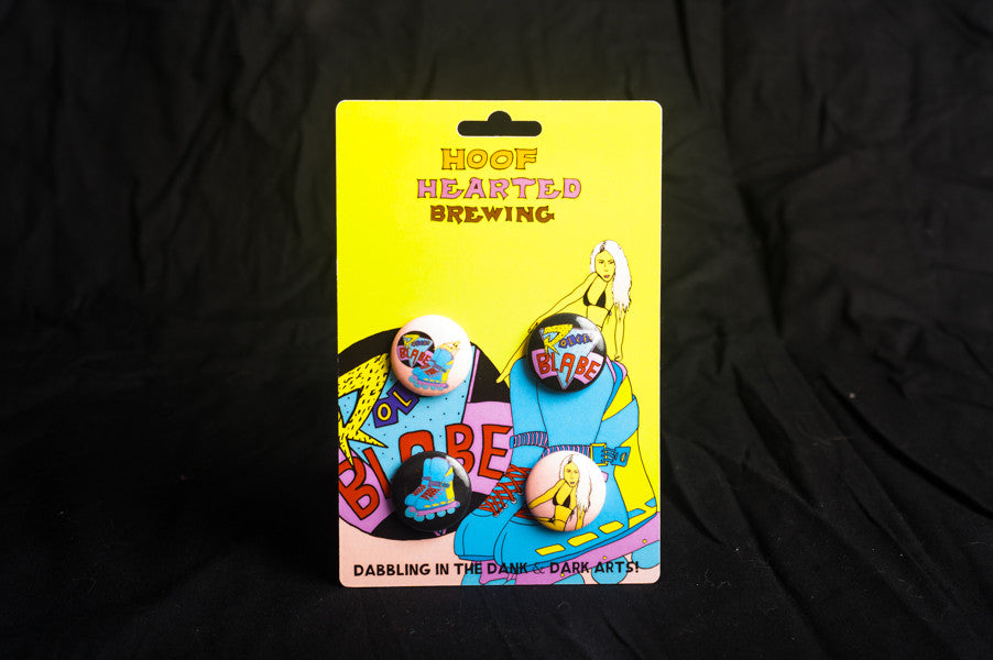 Hoof Hearted Pin Pack, Roller Blabe