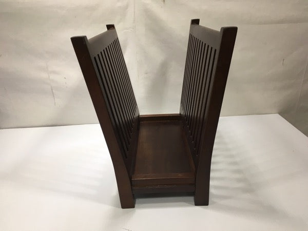 #280 magazine rack book shelf book rack stand holder cubby bookcase bookshelf