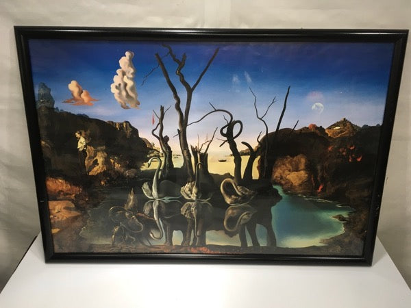 #293 Wall art Salvador Dali framed print fine art decor poster artistic artist painting