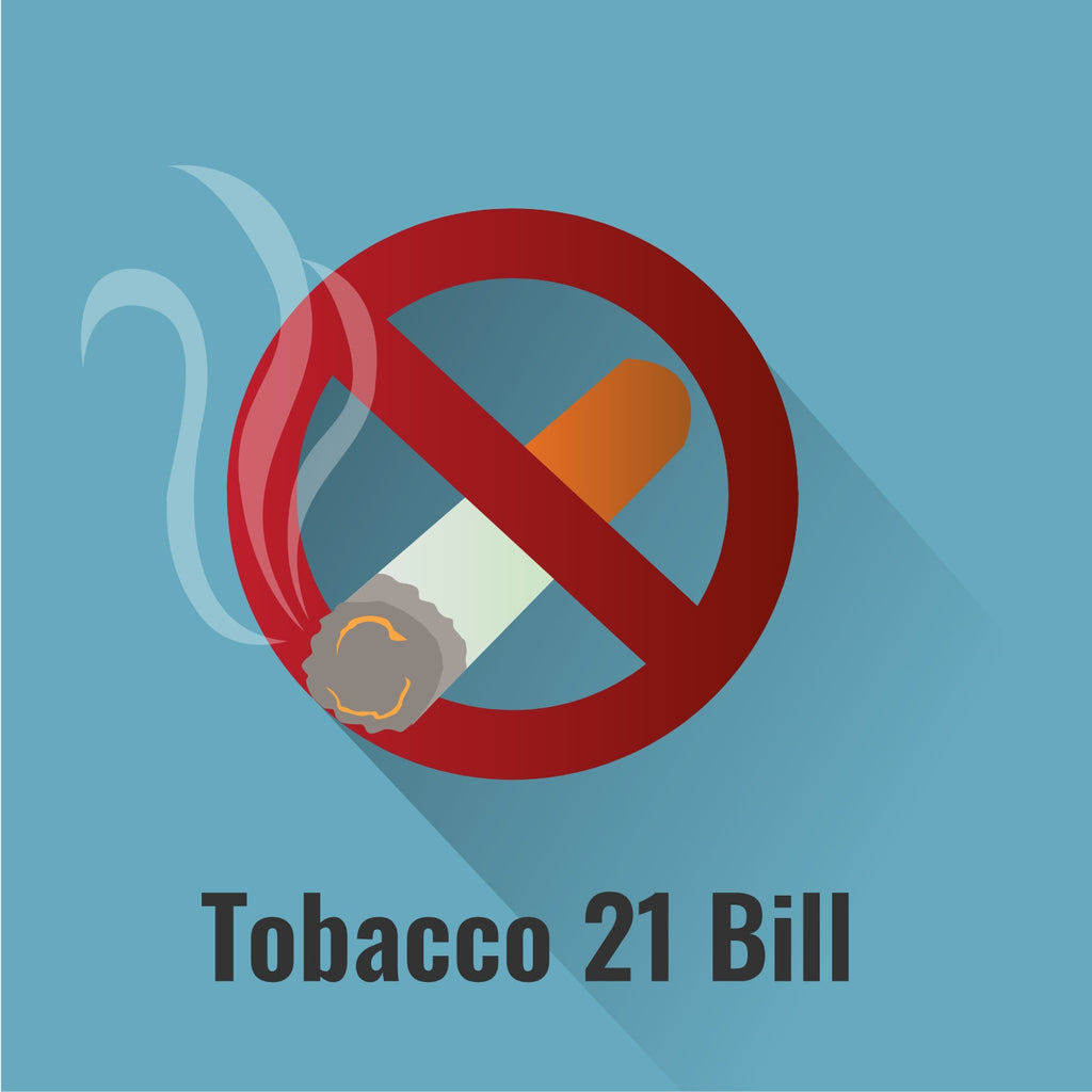 Tobacco 21 Bill: What It Means for Vapers