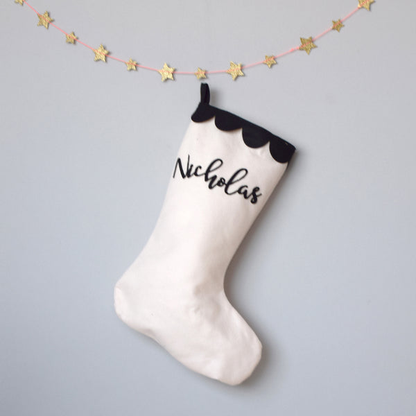 Personalised Christmas stocking - Connie Clementine