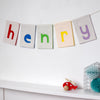 Personalised bunting large sized - Connie Clementine
