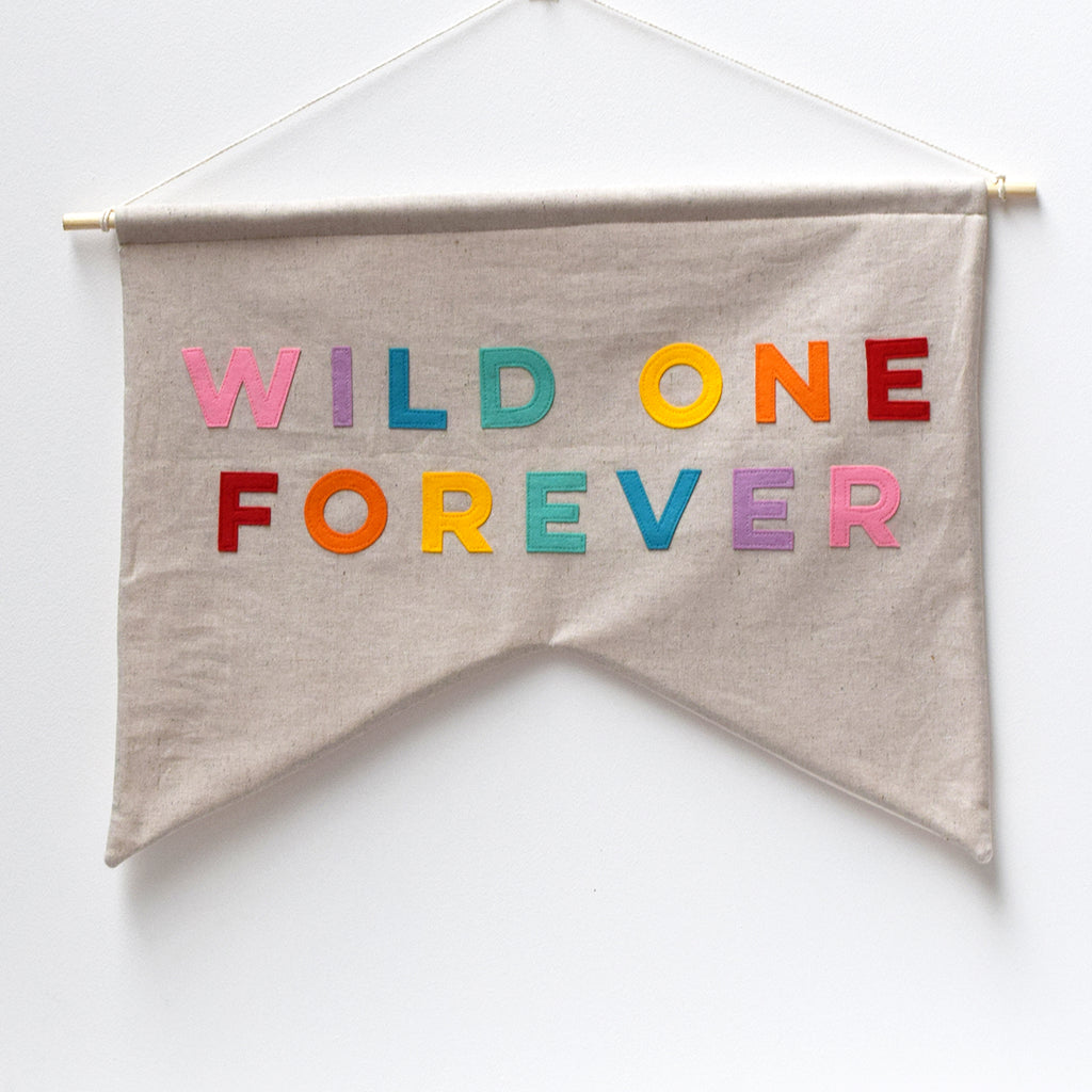 Wild One Forever Wall banner