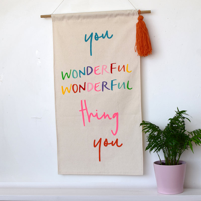 You wonderful wonderful thing you - Banner - Connie Clementine