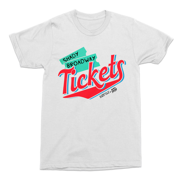 Shady Broadway Tickets Tee