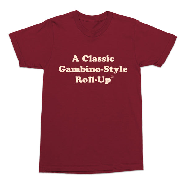 Gambino-Style Roll-Up Tee