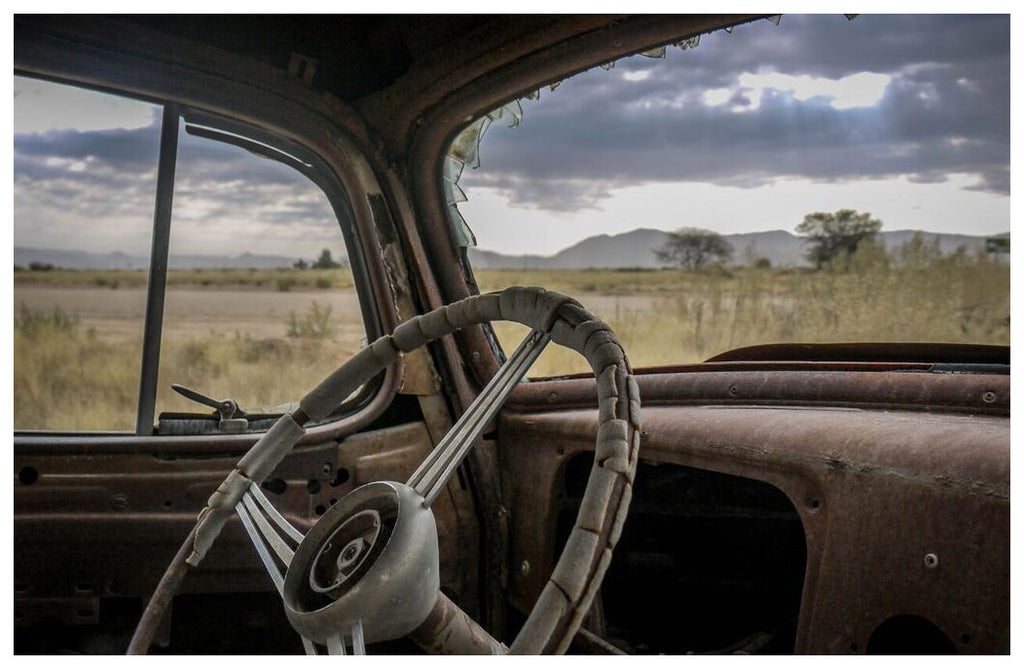 Abandoned in Namibia
