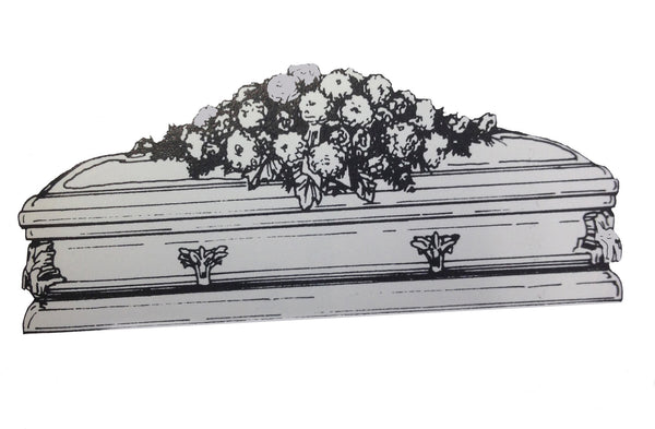 Sympathy Flowers - Casket related and Casket Cover Designs