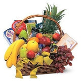 Gourmet Fruit Basket - Flowers by Pouparina