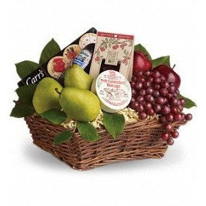 Delicious Delights Basket - Flowers by Pouparina