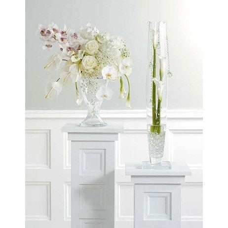 Elegant and Clasy White Arrangements - Flowers by Pouparina