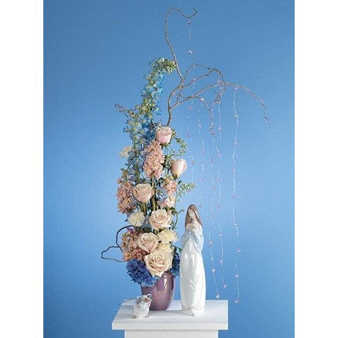 Tender Madonna Sympathy Tribute Flowers - Flowers by Pouparina