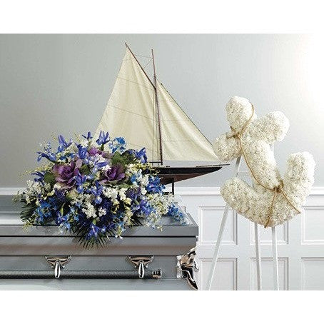 Sailor Custome Motive Sympathy Package - Flowers by Pouparina