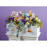 Animal Kingdom Baby Sympathy Casket Spray - Flowers by Pouparina