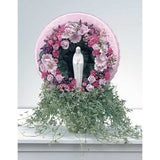 Pastel Colors Flowers with Ivy and Madonna Tribute - Flowers by Pouparina
