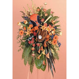 Baseball Player Sympathy Standing Spray - Flowers by Pouparina