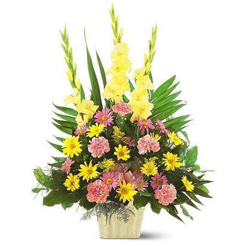 Warm Thoughts Arrangement - Flowers by Pouparina