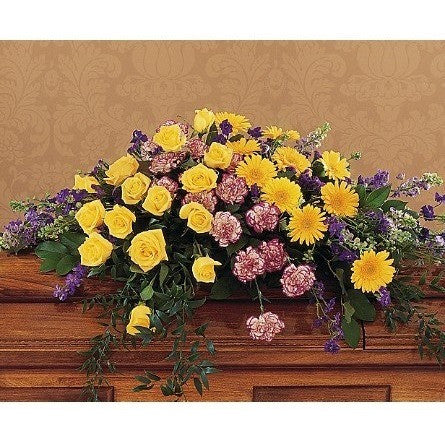 Eternal Hope Casket Spray - Flowers by Pouparina