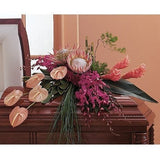 Tropical Paradise Casket Spray - Flowers by Pouparina