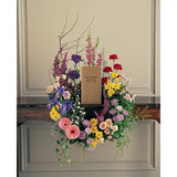 Cremation Urn Wreath - Flowers by Pouparina