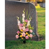 Graveside Remembrances - Flowers by Pouparina