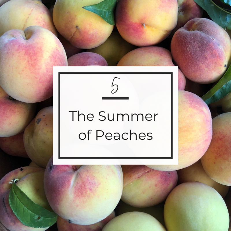 The Summer of Peaches