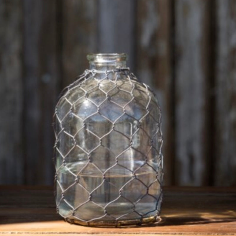 Chicken Wire Bottle