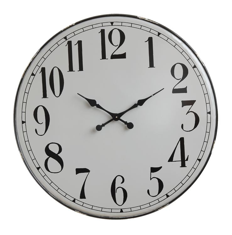 Prairie Fields Wall Clock