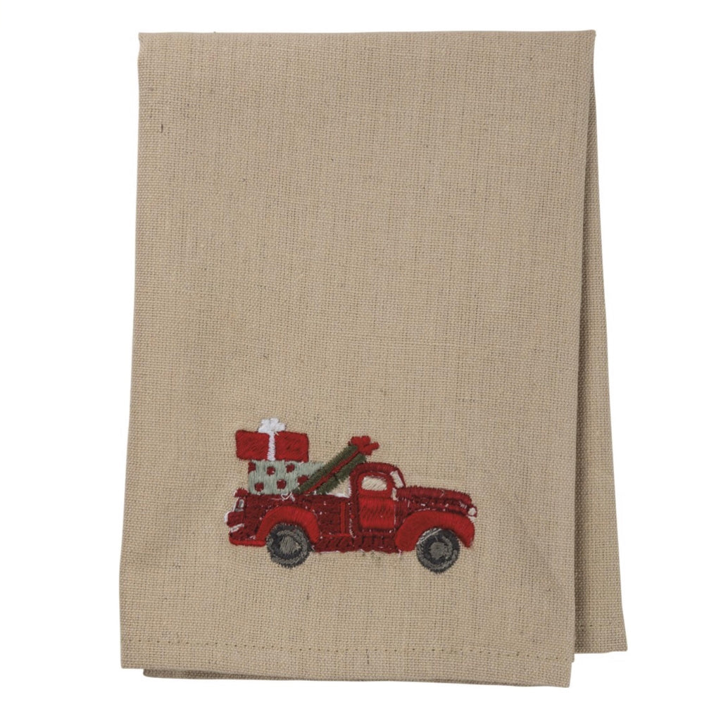 Red Truck Napkin Set