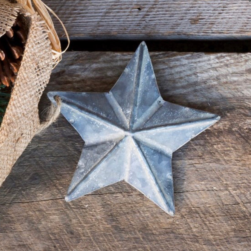 Embossed Star Ornament