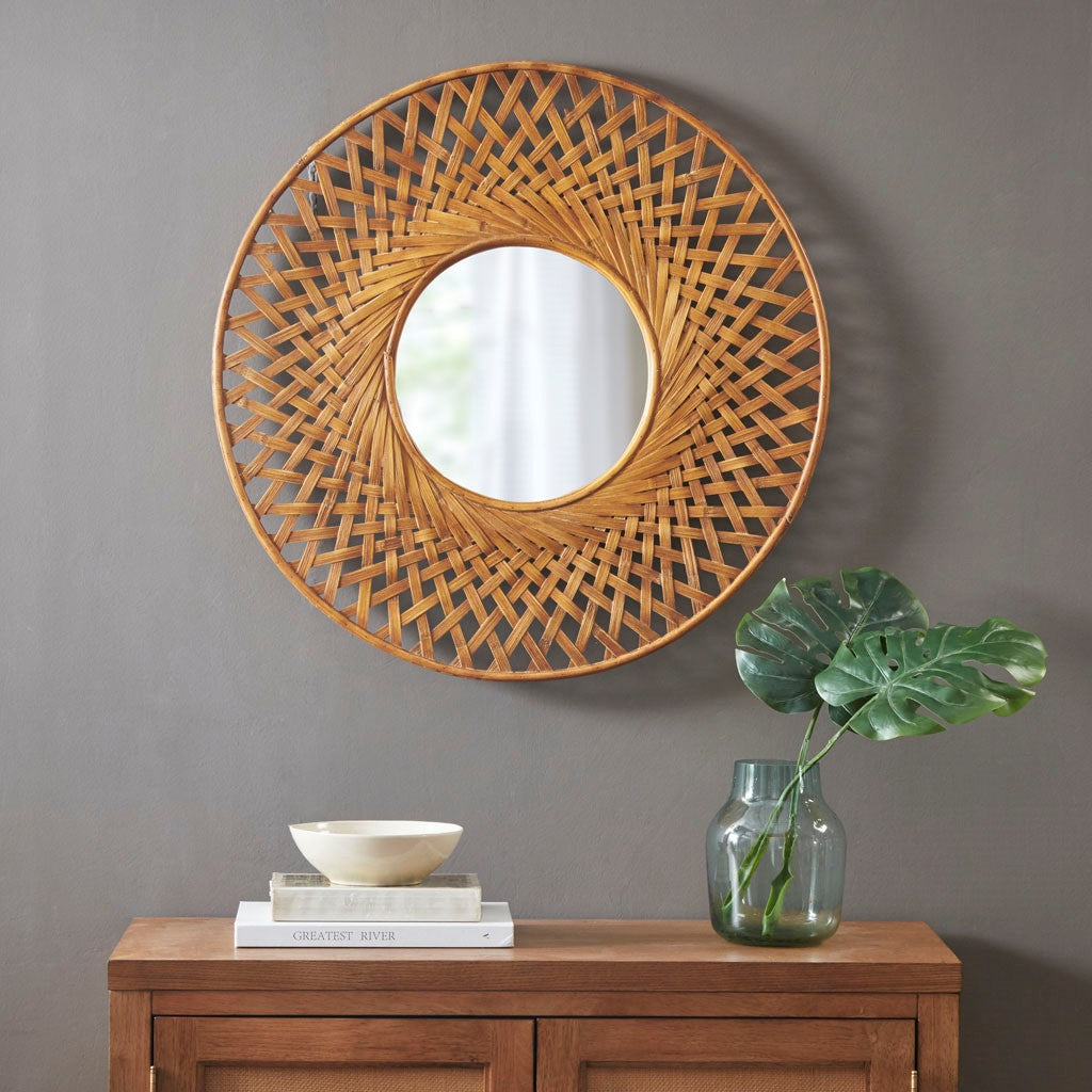 West Bay Bamboo Mirror