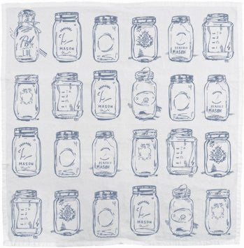 Mason Jars Kitchen Towel
