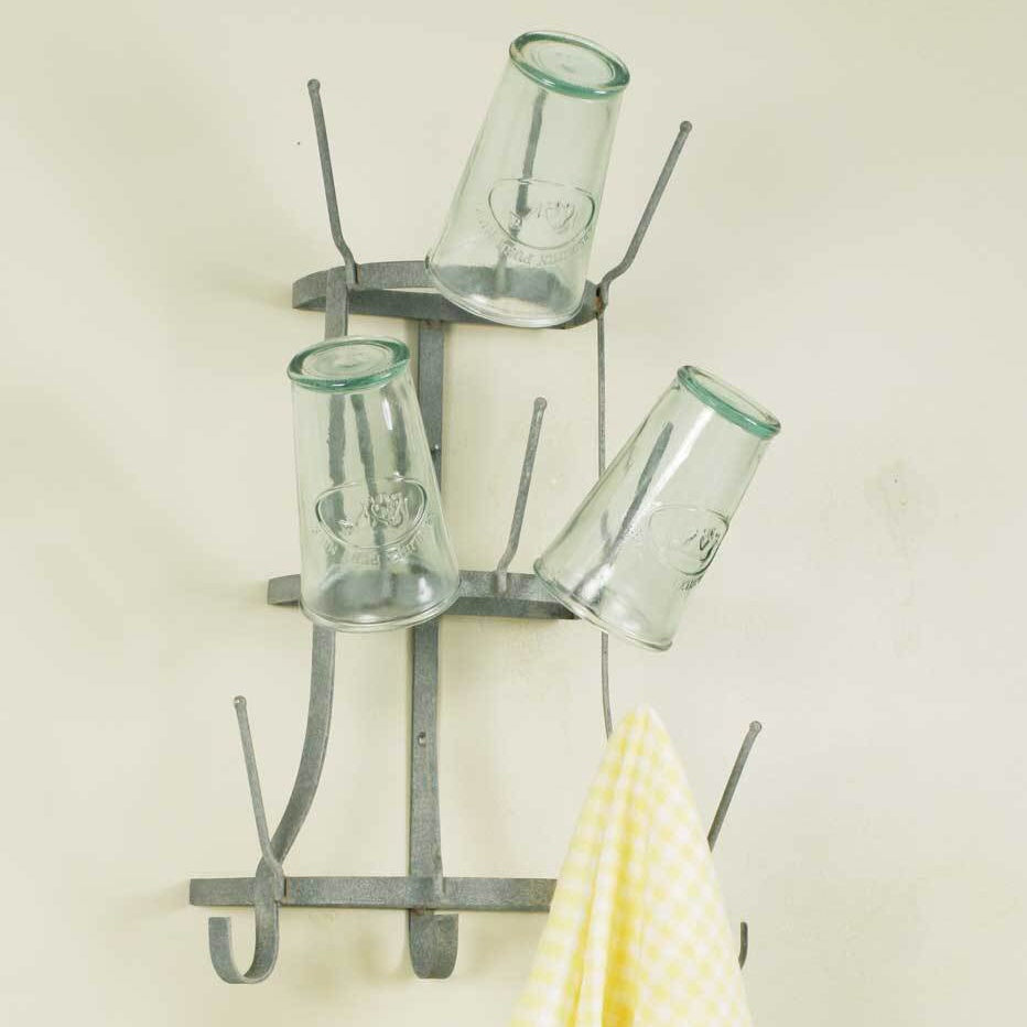 Wall Mount Bottle Tree