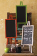 Vertical Chalkboard Set