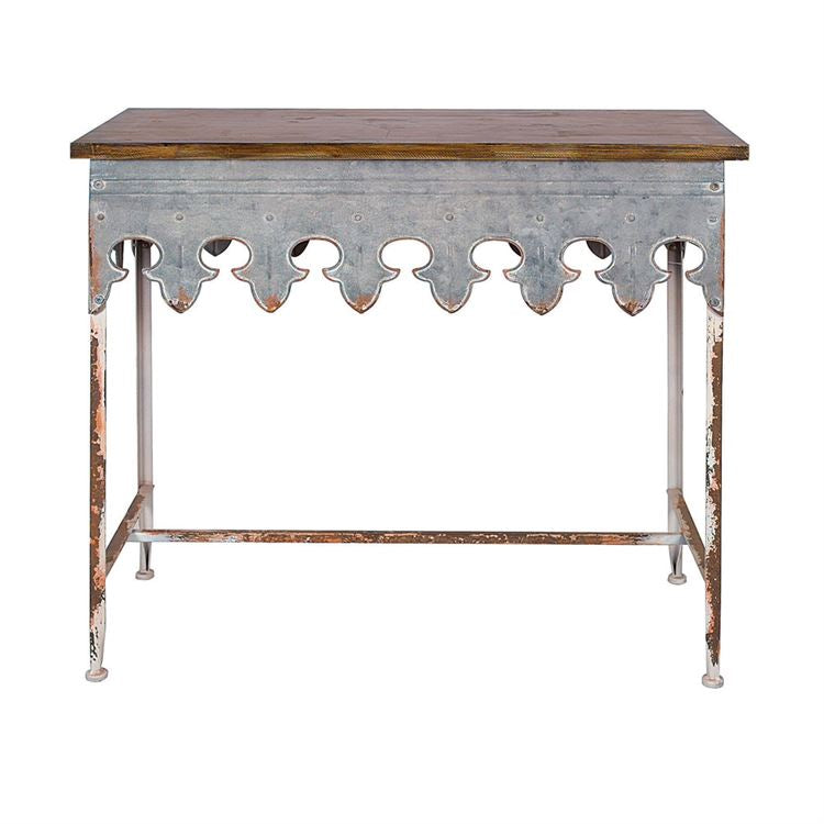 Scalloped Edge Table