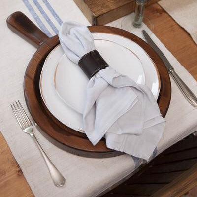 Leather Napkin Rings