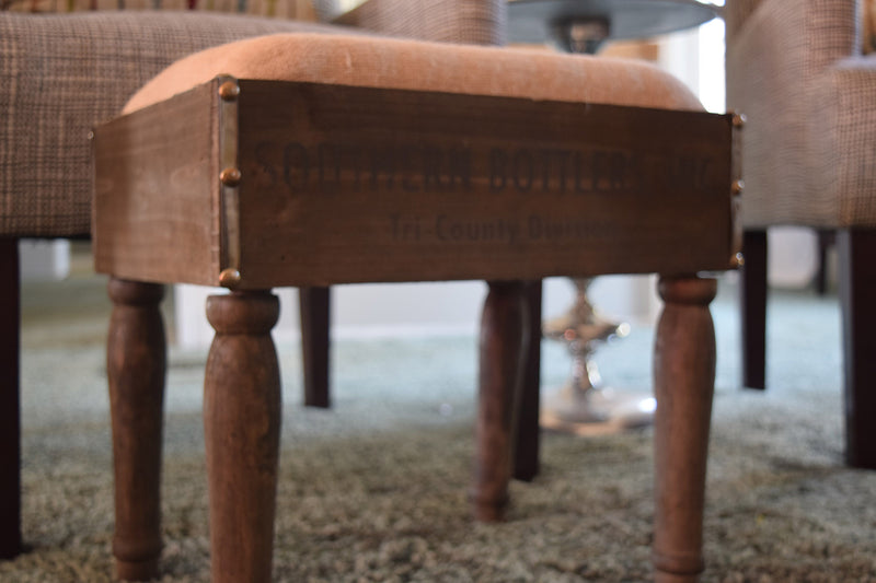 Southern Bottlers Foot Stool